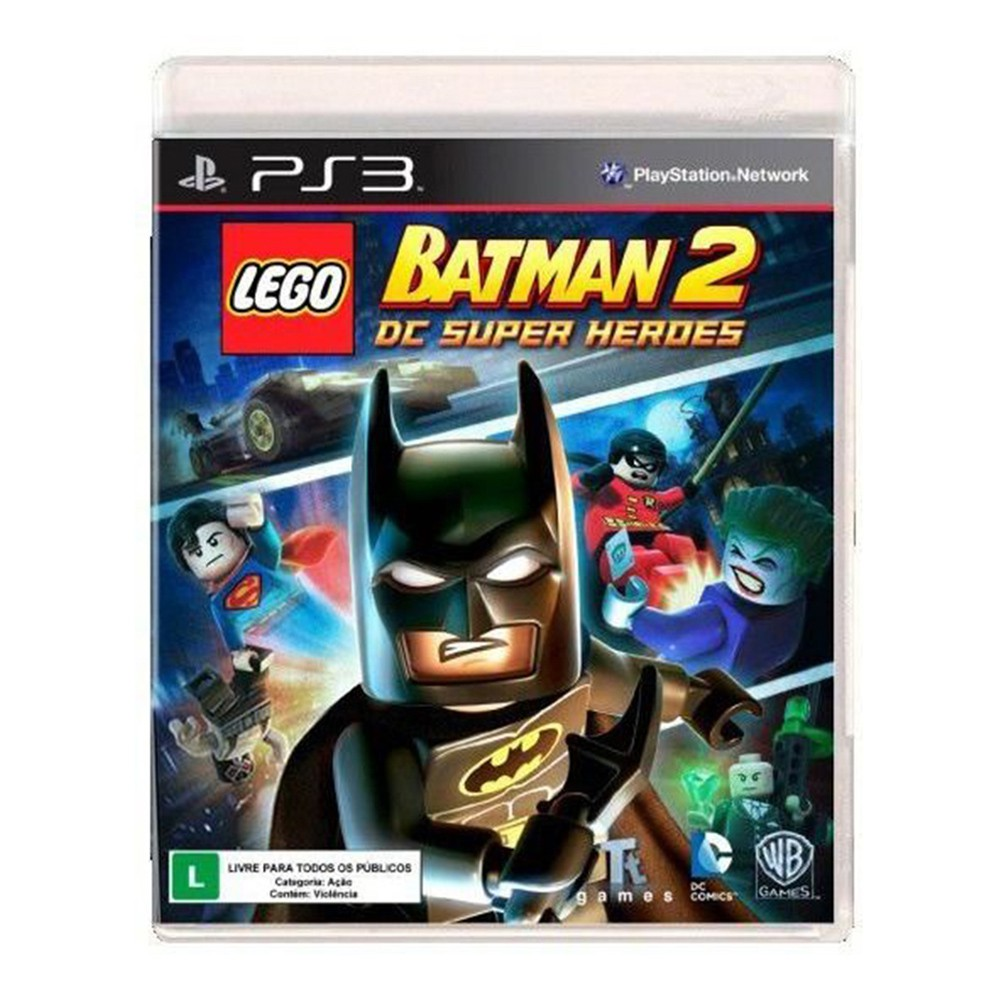 Jogo LEGO Batman 2 DC Super Heroes - PS3 (Usado)