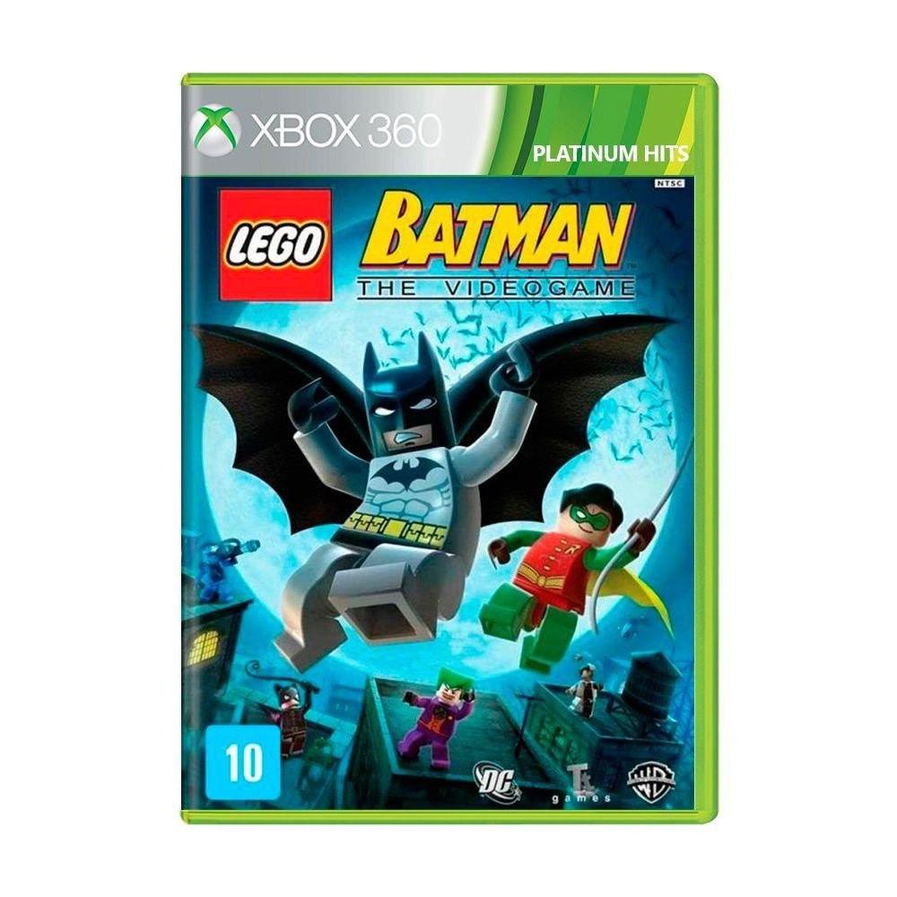 Jogo Lego Batman The Video Game - Platinum Hits - Xbox 360