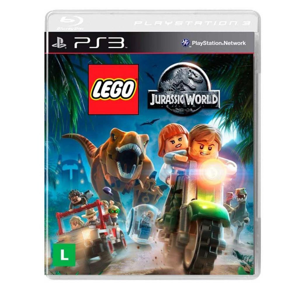 Jogo LEGO: Jurassic Wold PS3 (Usado)