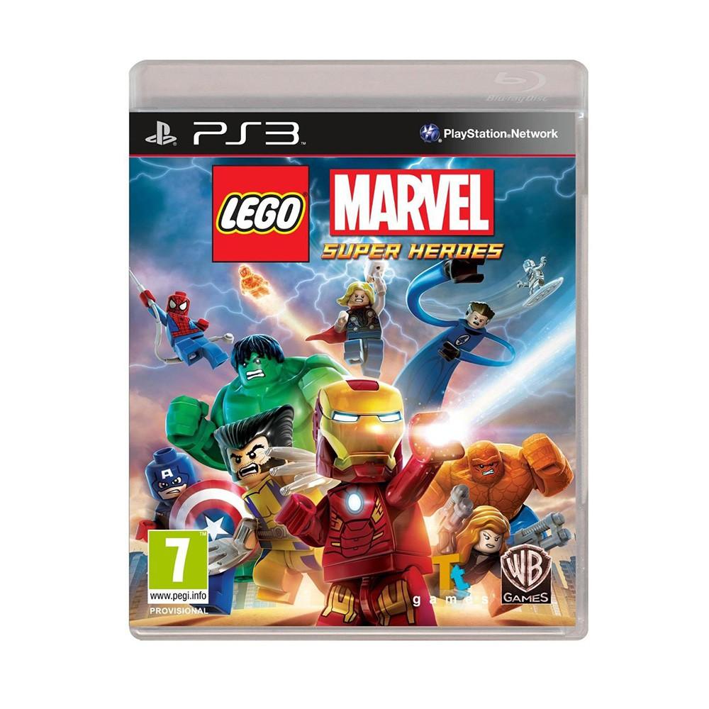 Jogo LEGO Marvel Super Heroes - PS3 (Usado)