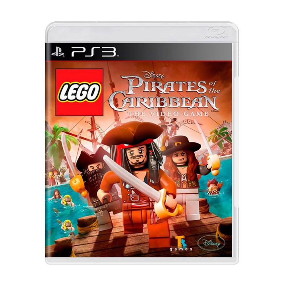 Jogo Lego Pirates of the Caribbean - PS3 (Usado)