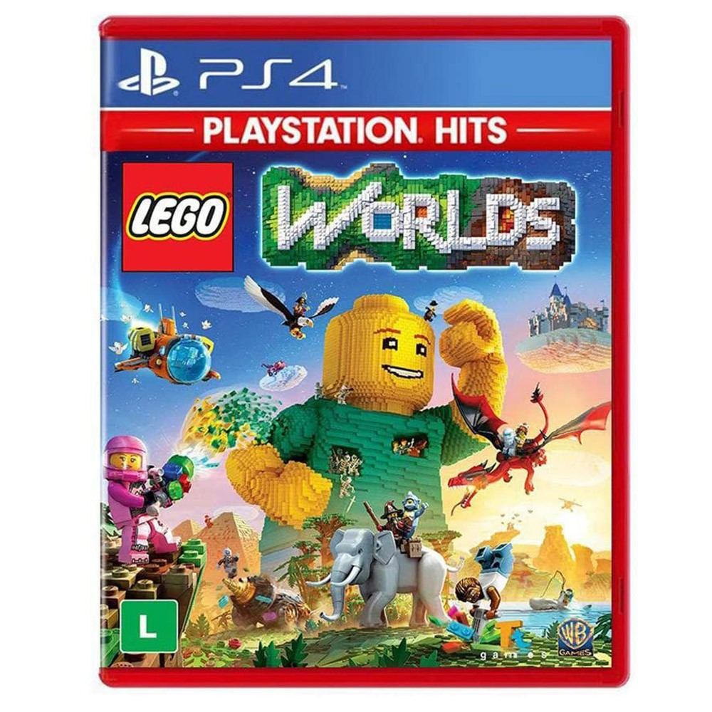 Jogo LEGO Worlds Playstation Hits - PS4