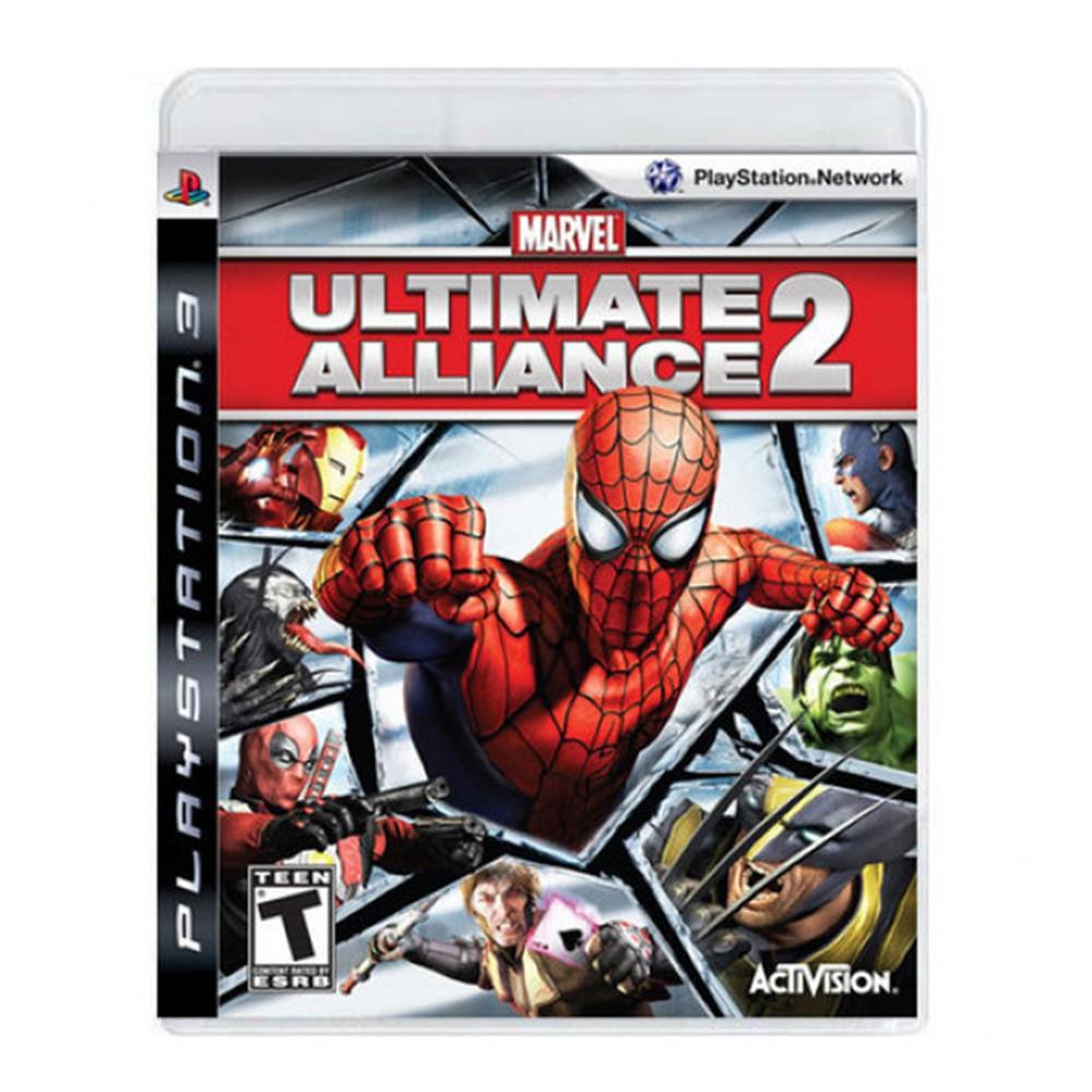 Jogo Marvel Ultimate Alliance 2 - PS3 (Usado)