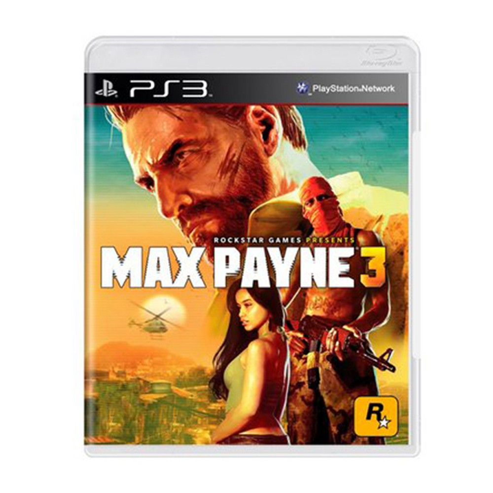 Jogo Max Payne 3 - PS3 (Usado)