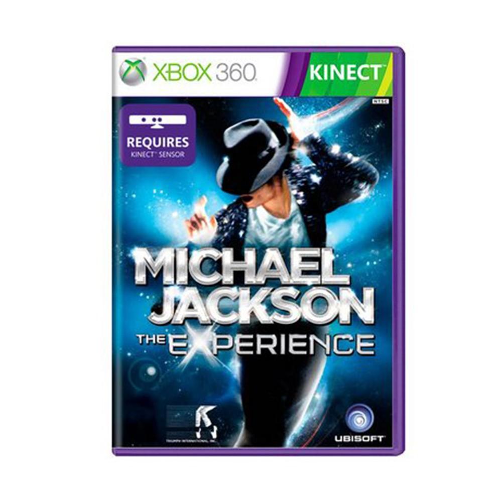 Jogo Michael Jackson Experience Kinect - Xbox 360 (Usado)