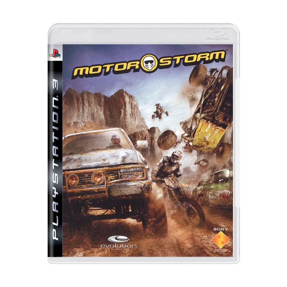 Jogo Motorstorm - PS3 (Usado)