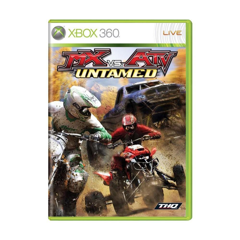 Jogo MX vs ATV Untamed - Xbox 360 (Usado)