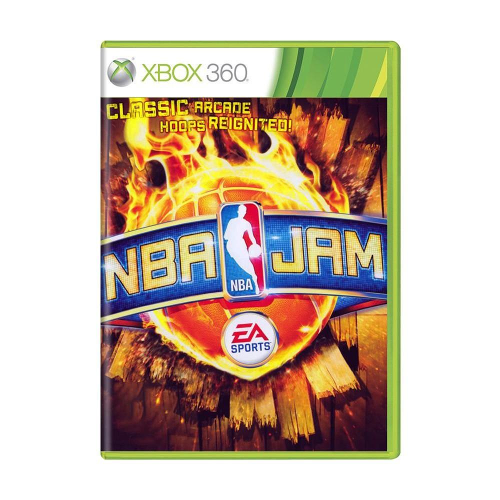 Jogo NBA Jam - Xbox 360 (Usado)