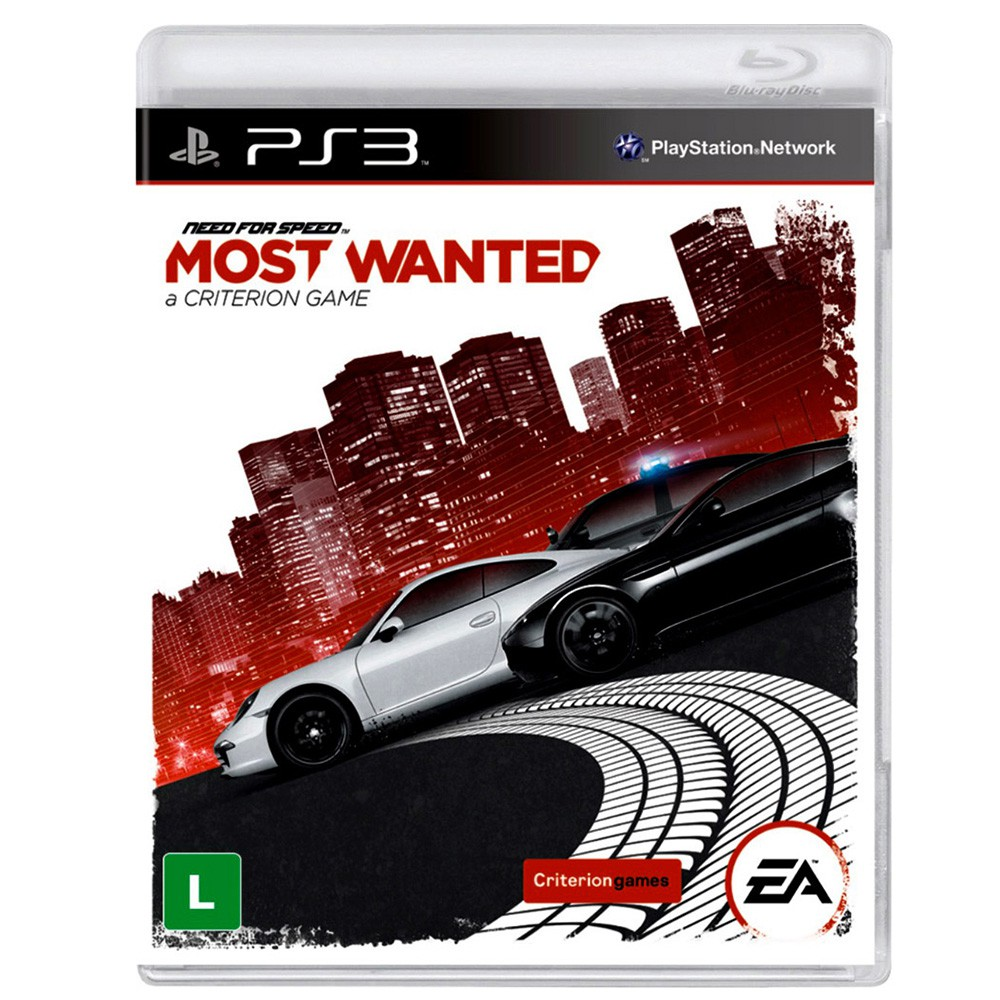 Jogo Need For Speed Most Wanted Limited Edition - PS3 (Usado)