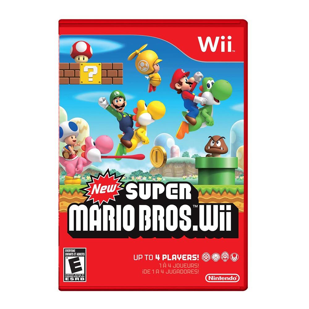 Jogo New Super Mario Bros - Nintedo Wii (Usado)