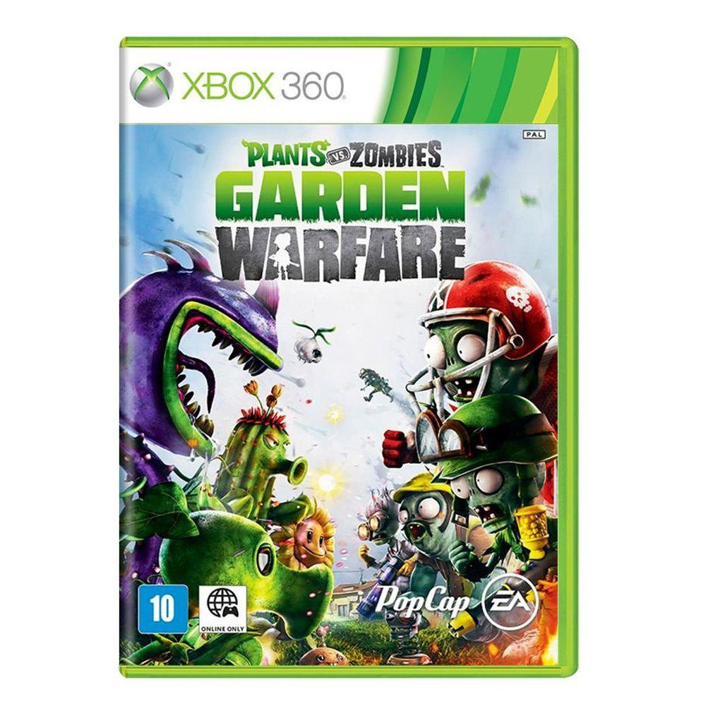 Jogo Plants vs Zombies: Garden Warfare - Xbox 360