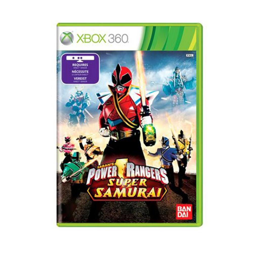 Jogo Power Rangers Super Samurai Kinect - Xbox 360 (Usado)