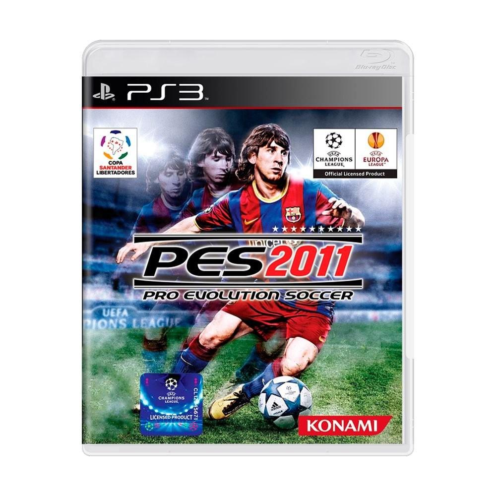 Jogo Pro Evolution Soccer 2011 (PES 2011) - PS3 (Usado)
