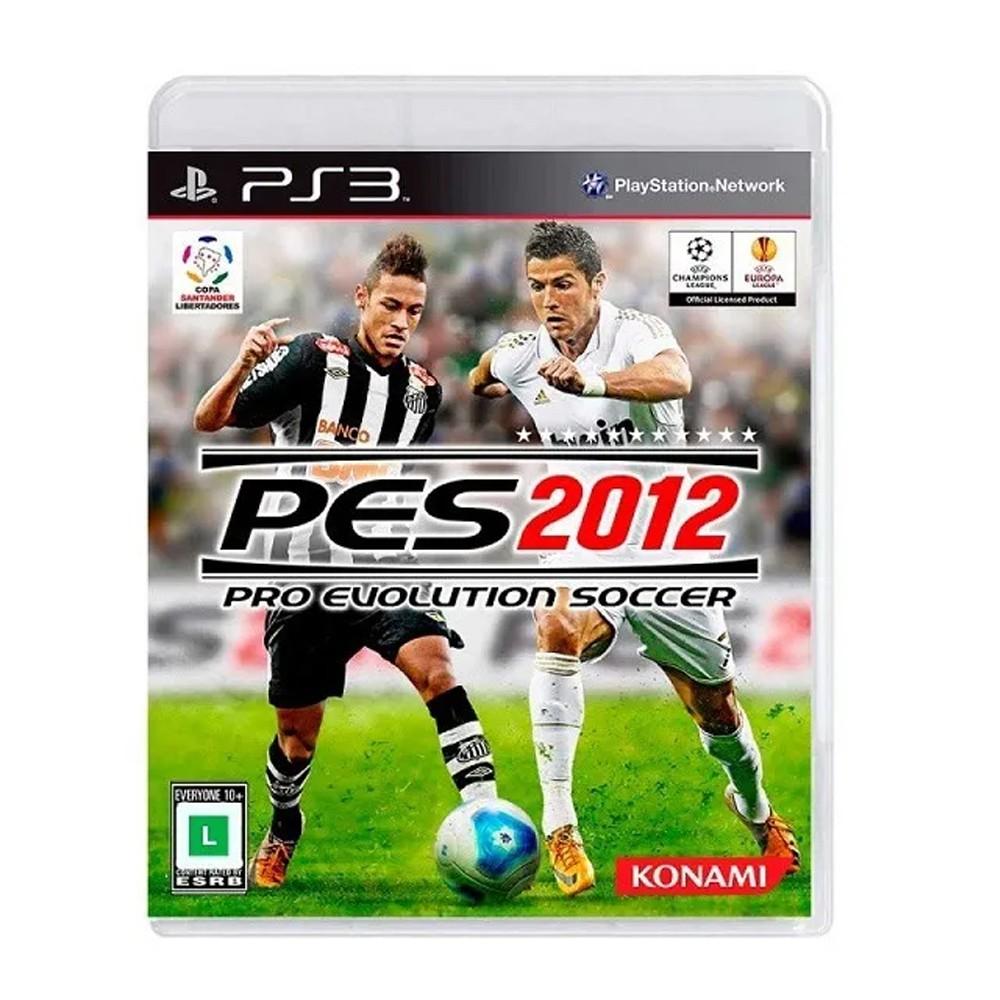Jogo Pro Evolution Soccer 2012 (PES 2012) - PS3 (Usado)