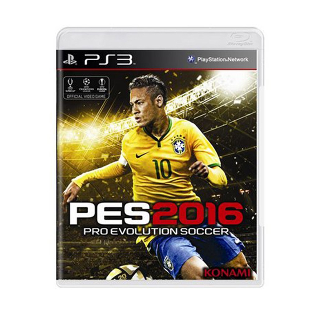 Jogo Pro Evolution Soccer 2016 - PS3 (Usado)