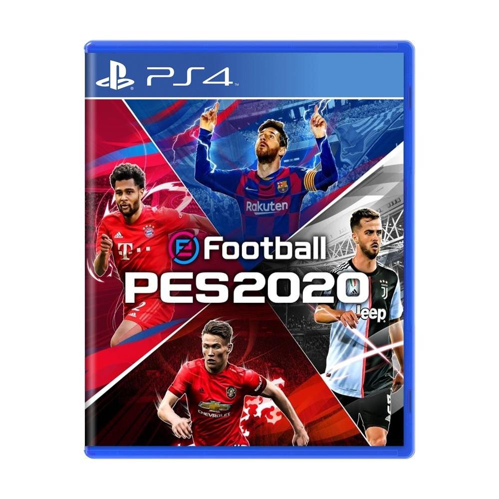 Jogo Pro Evolution Soccer 2020 (PES 2020) - PS4 (Usado)