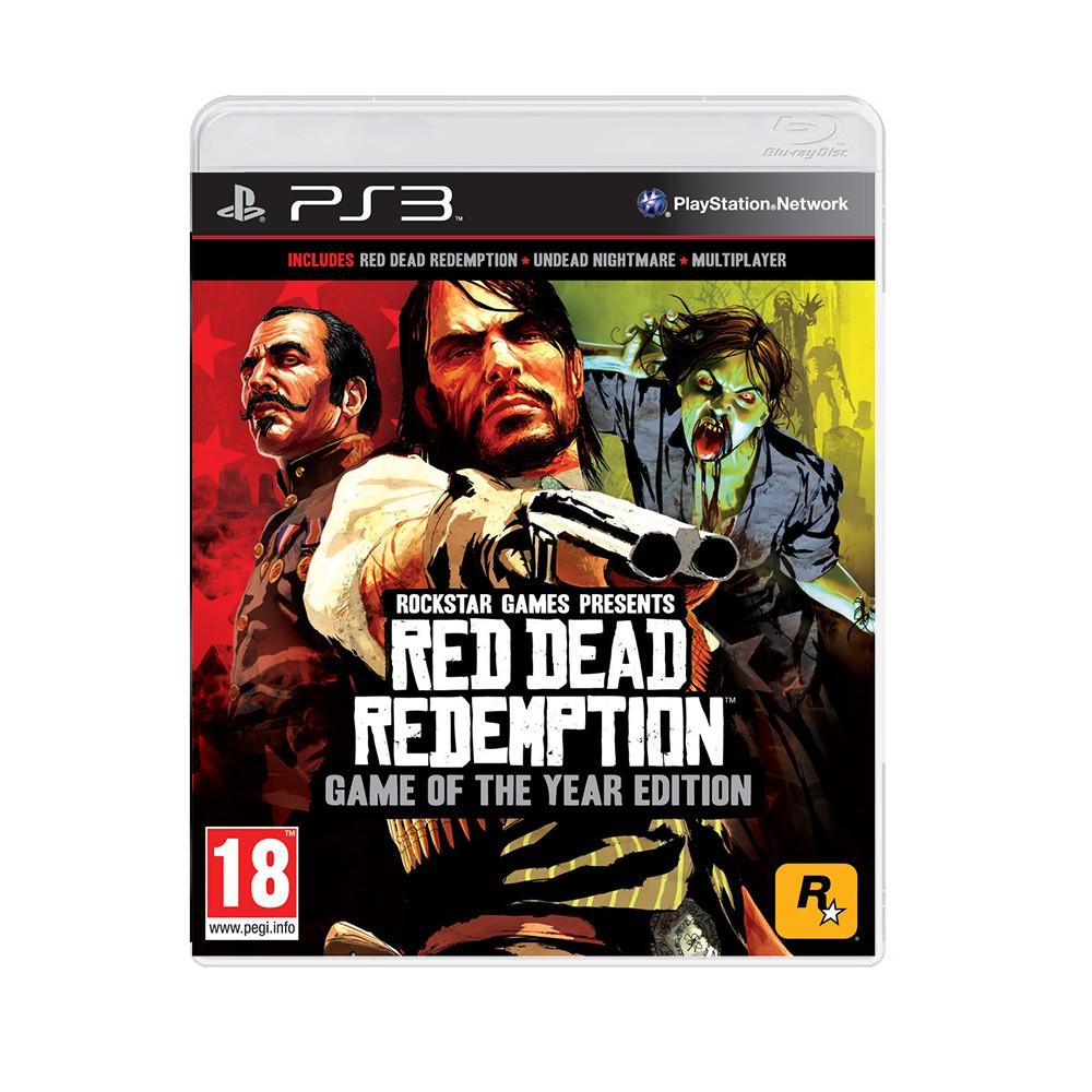 Jogo Red Dead Redemption (Edição jogo do ano) - PS3 (Usado)