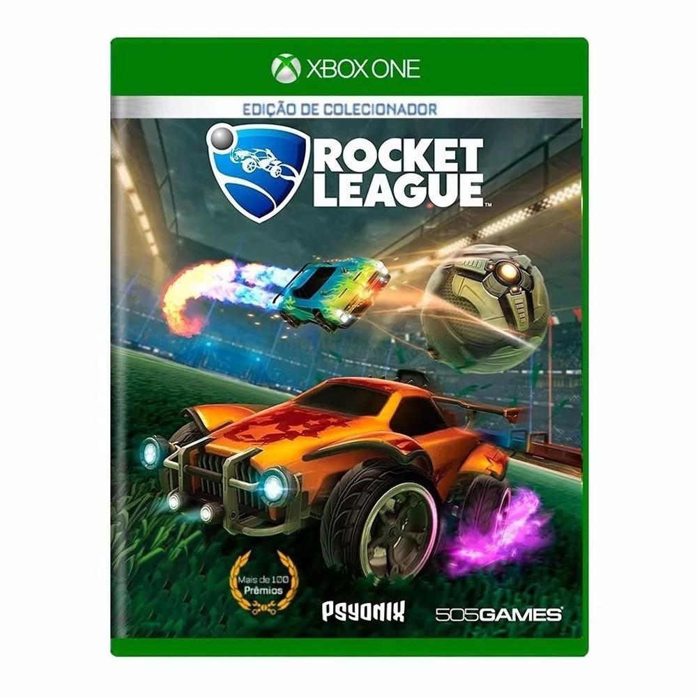 Jogo Rocket League Collector's Edition - Xbox One (Usado)