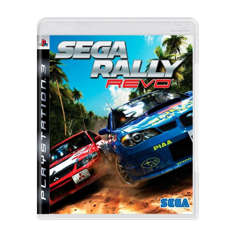 Jogo Sega Rally Revo - PS3 (Usado)