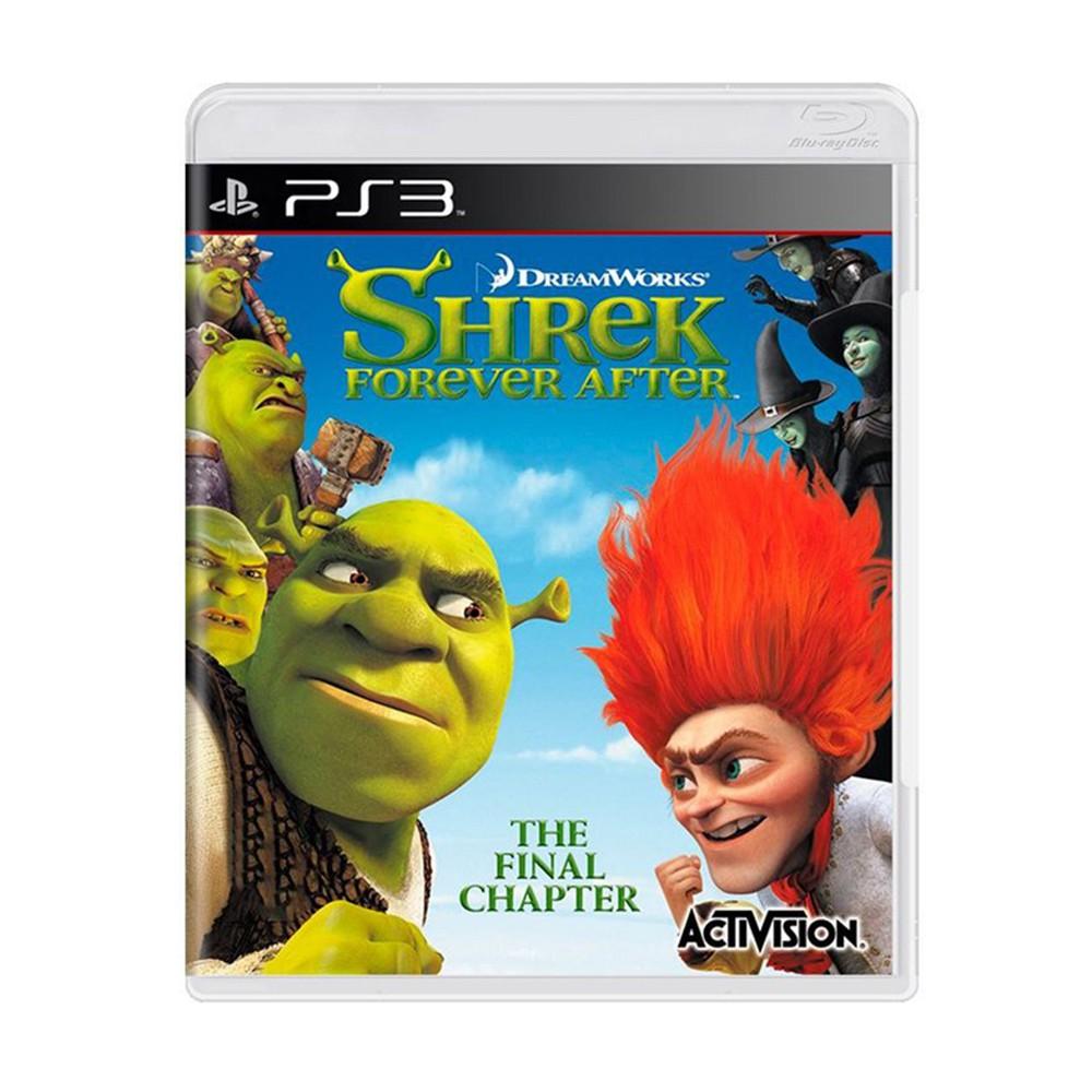 Jogo Sherek Forever After - PS3 (Usado)