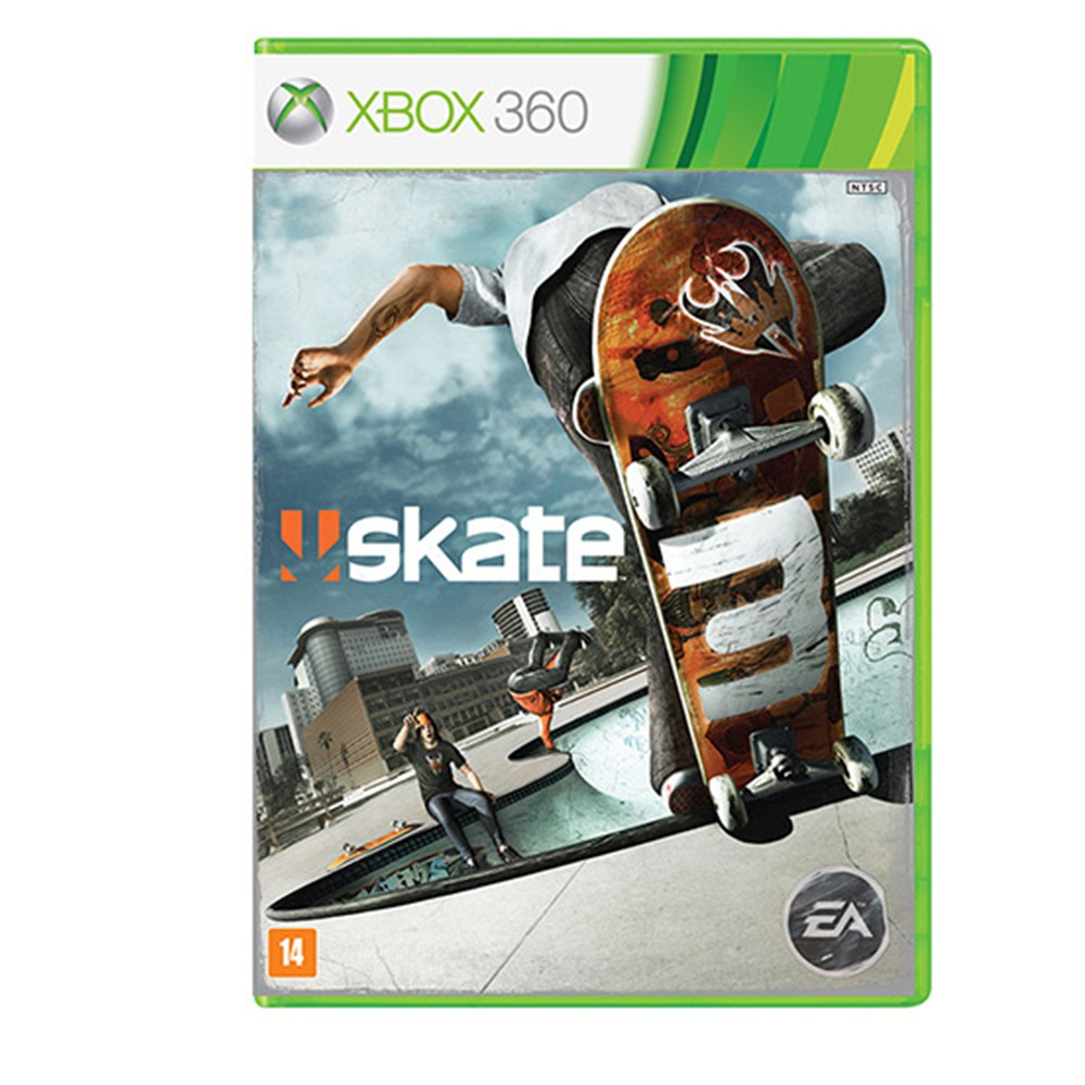 Jogo Skate 3 - Xbox 360 (Usado)