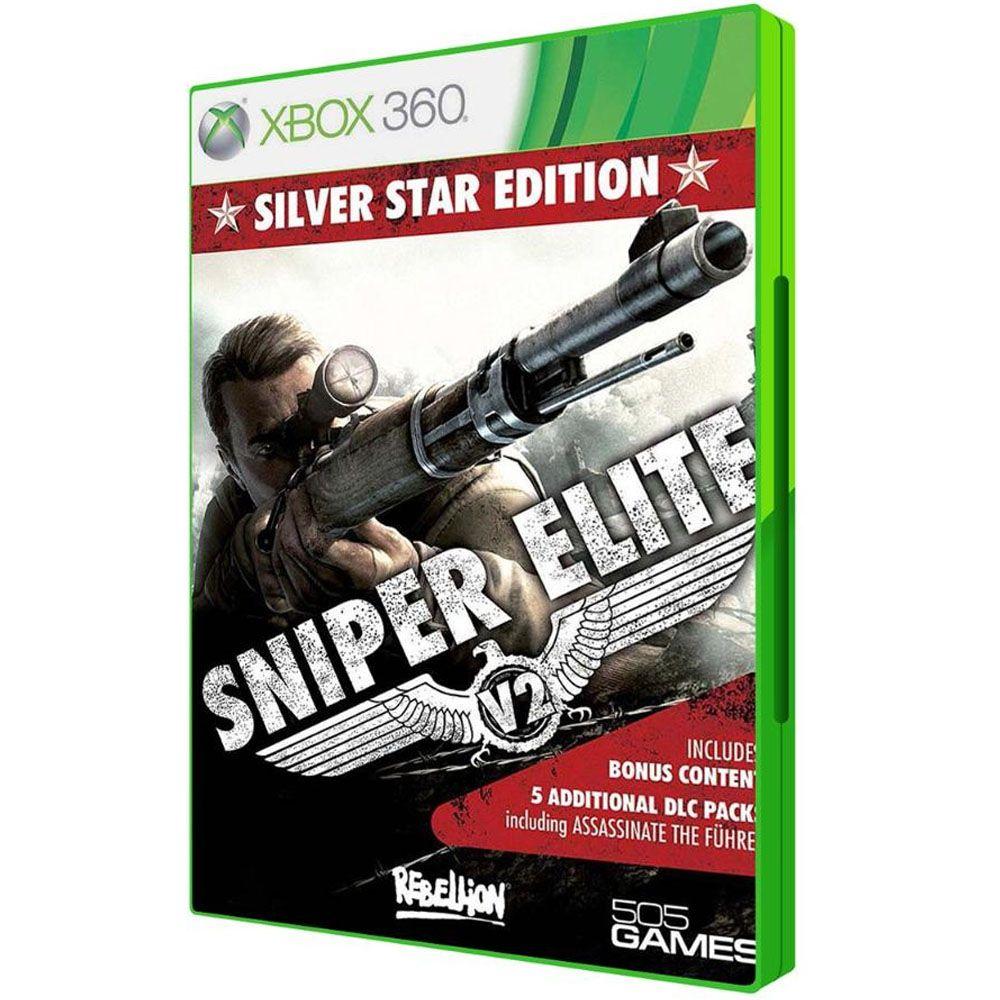 Jogo Sniper Elite V2 Silver Star Edition - Xbox 360 (Usado)