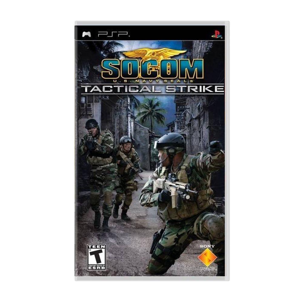 Jogo SOCOM U.S. Navy Seals Tactical Strike - PSP (Usado)