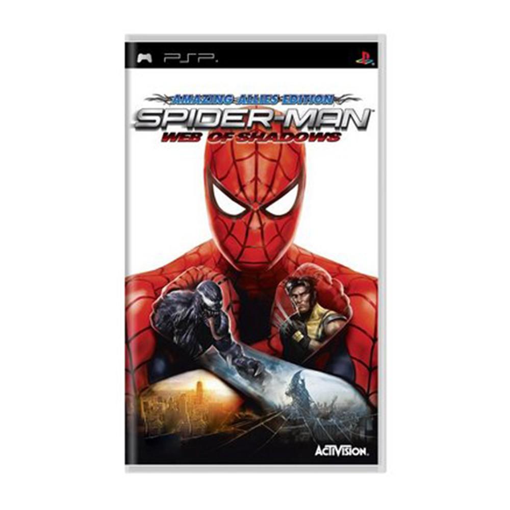 Jogo Spider-Man Web of Shadows - PSP (Usado)