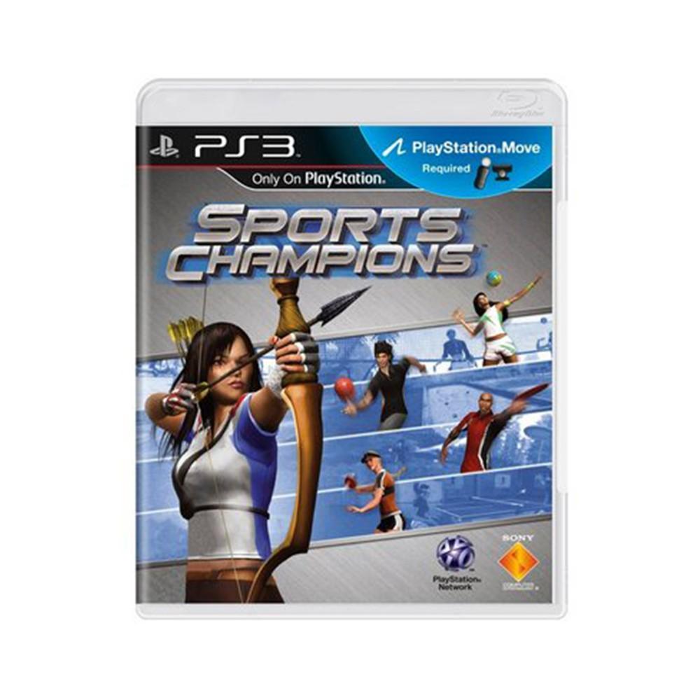 Jogo Sports Champions - PS3 (Usado)