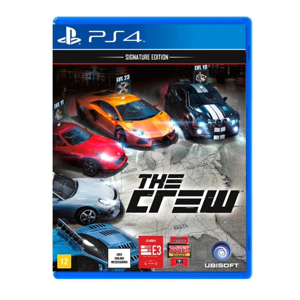Jogo The Crew Signature Edition - PS4 (Usado)