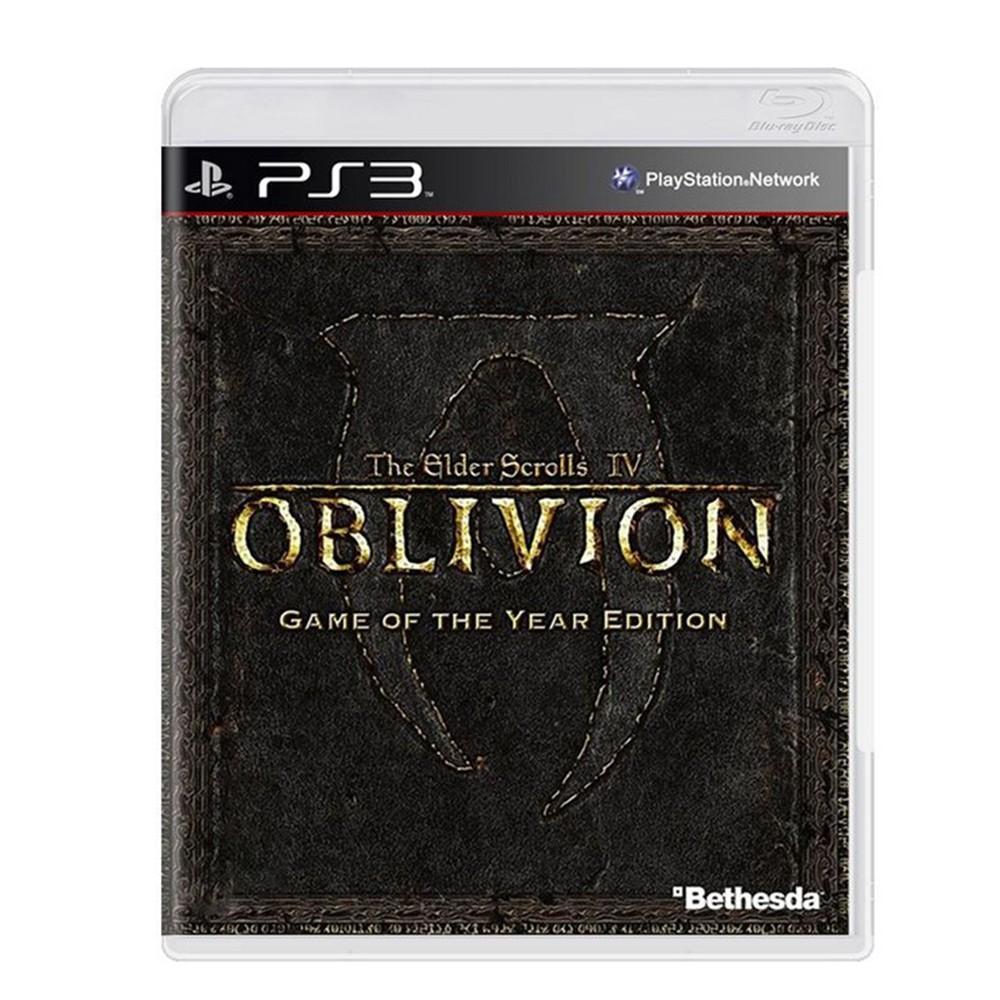 Jogo The Elder Scrolls IV Oblivion GOTY - PS3 (Usado)
