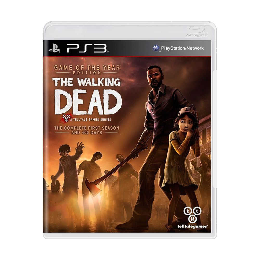 Jogo The Walking Dead: The Complete First Season - PS3 (usado)