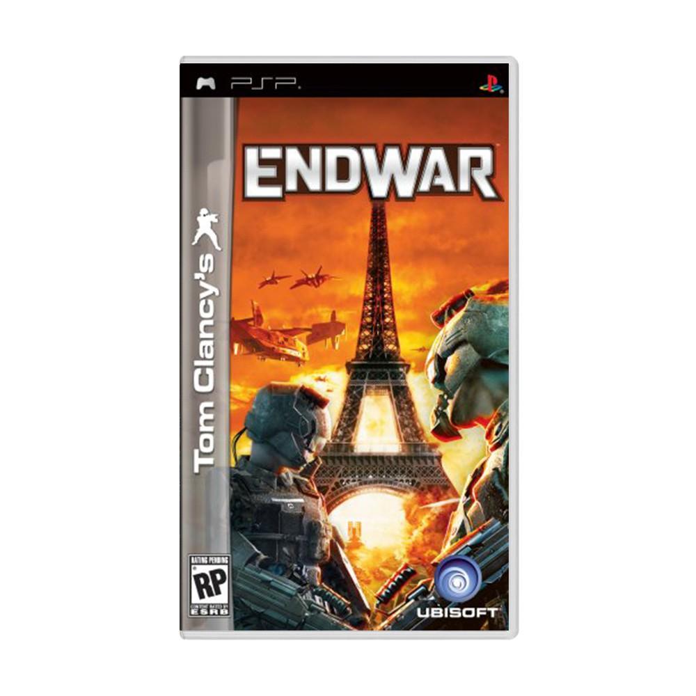 Jogo Tom Clancy's Endwar - PSP (Usado)