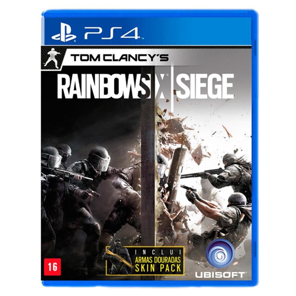 Jogo Tom Clancy's Raimbow Six Siege - PS4 (Usado)