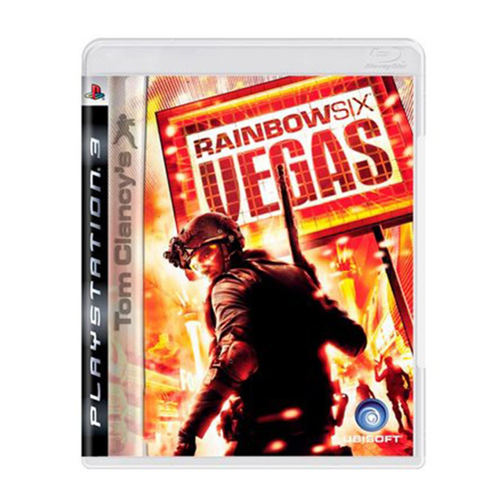 Jogo Tom Clancy's Rainbow Six Vegas - PS3 (Usado)
