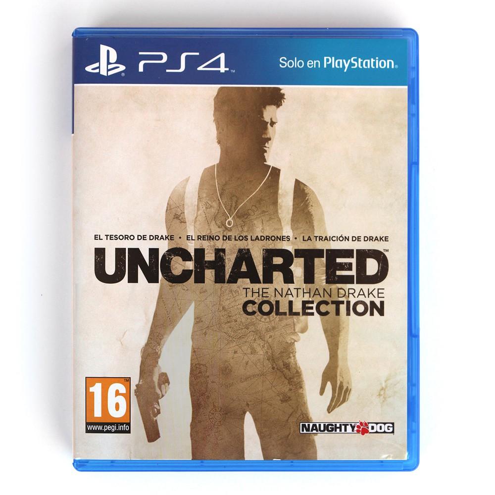 Jogo Uncharted The Nathan Drake Collection - PS4 (Usado)