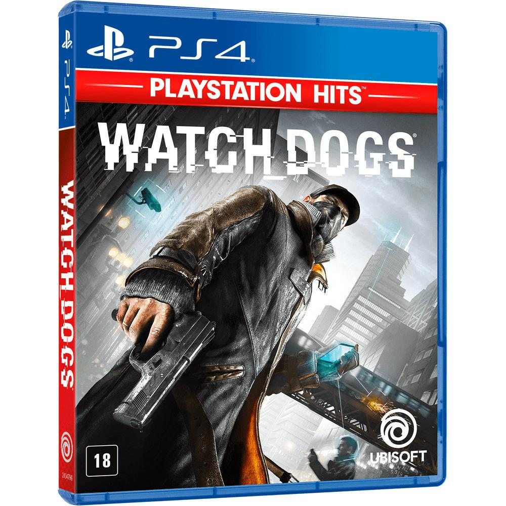 Jogo Watch Dogs - PS4 Playstation Hits