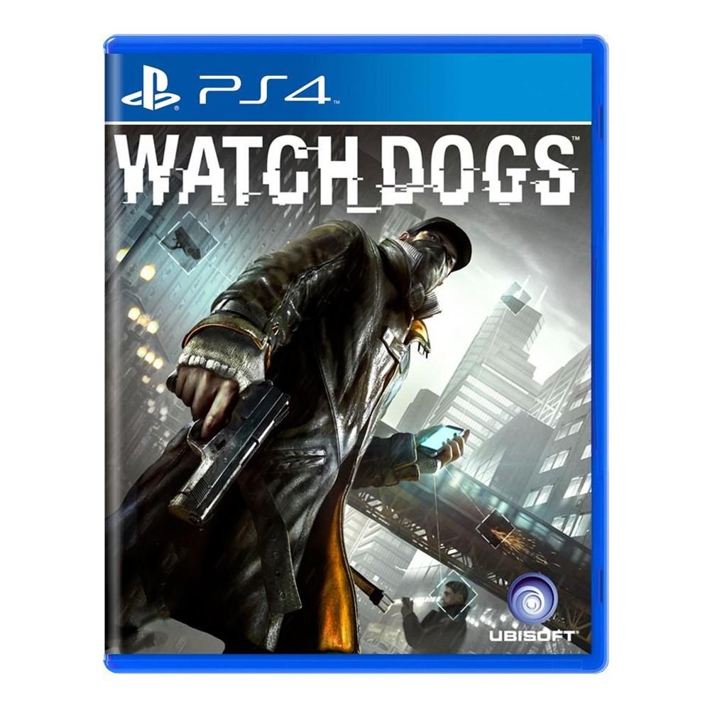 Jogo Watch Dogs - PS4 - (Usado)