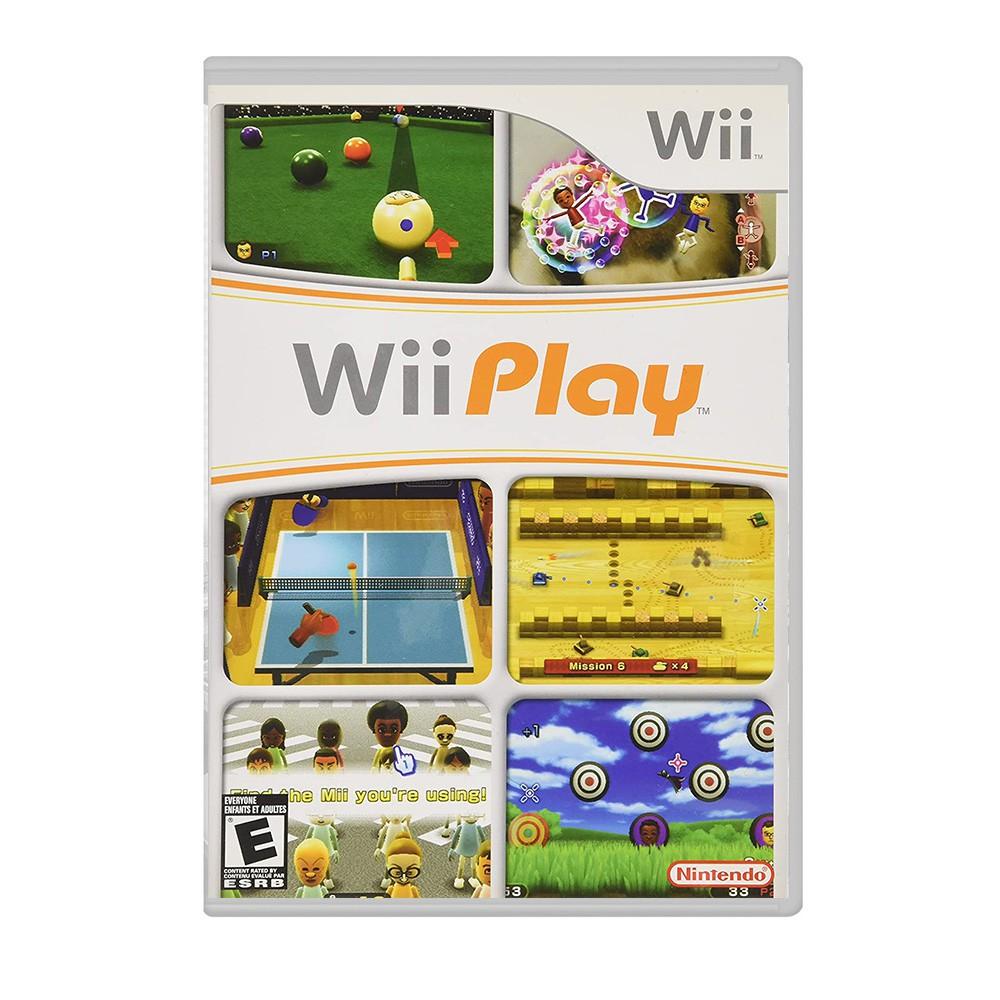 Jogo Wii Play - Nintedo Wii (Usado)