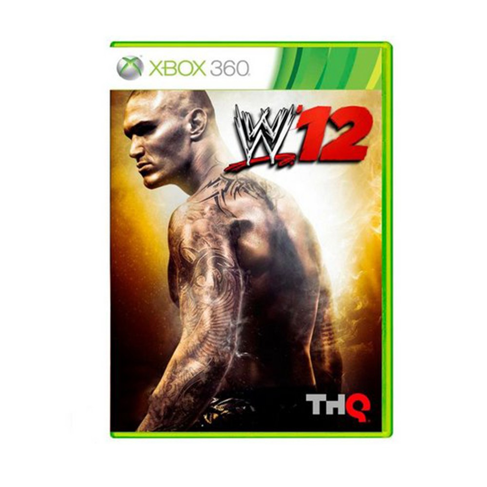 Jogo WWE 12 - Xbox 360 (Usado)
