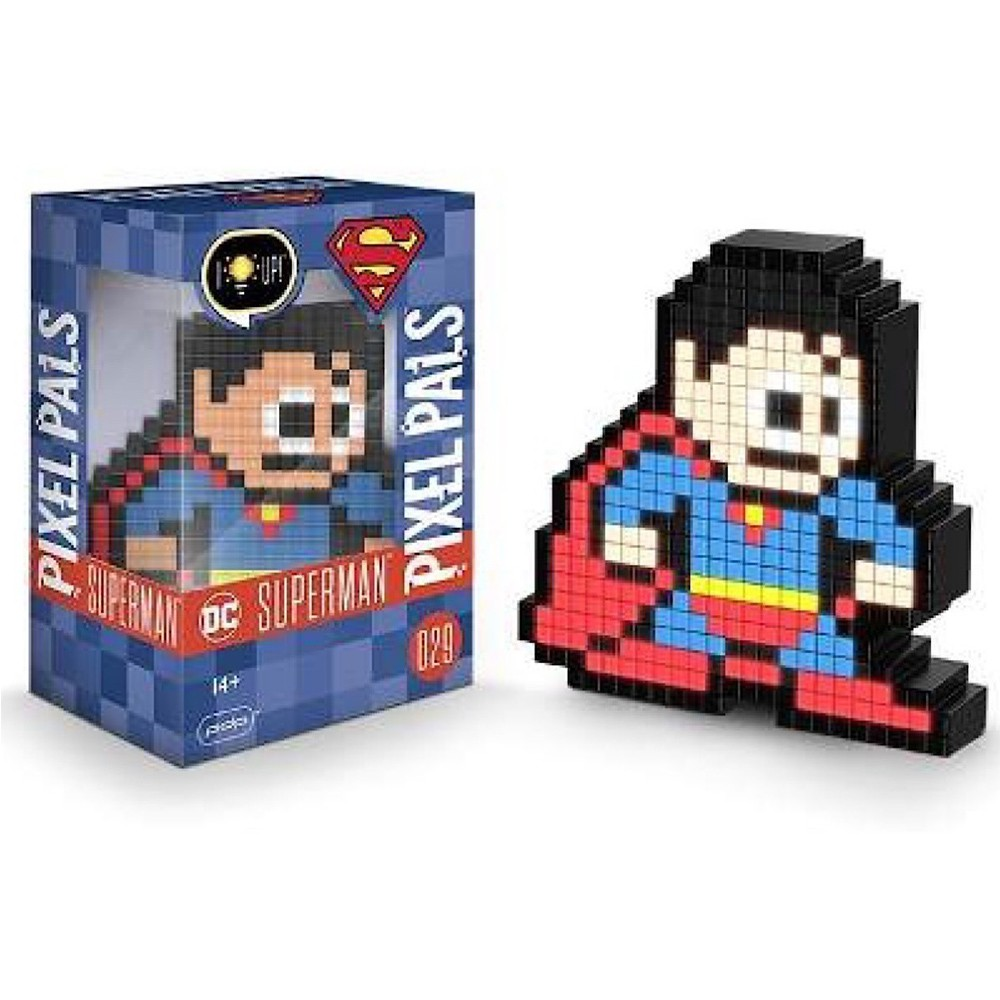 Luminária Pixel Pals DC Superman 029 - PDP