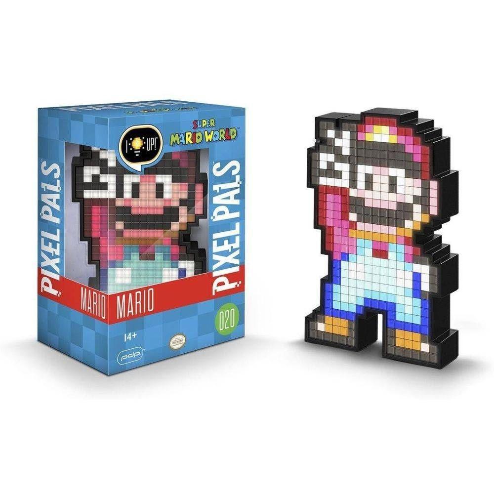 Luminária Pixel Pals Mario 16 BIT 020 - PDP