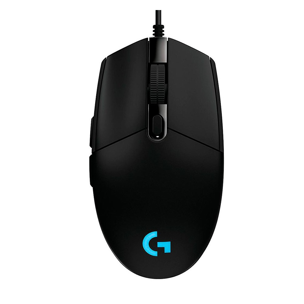 Mouse Gamer G203 Prodigy Logitech, RGB Lightsync, 6 Botões, 8000 DPI