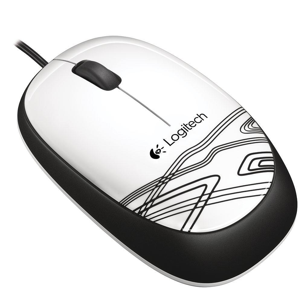 Mouse Logitech M105 Branco 1000DPI - 910-003138