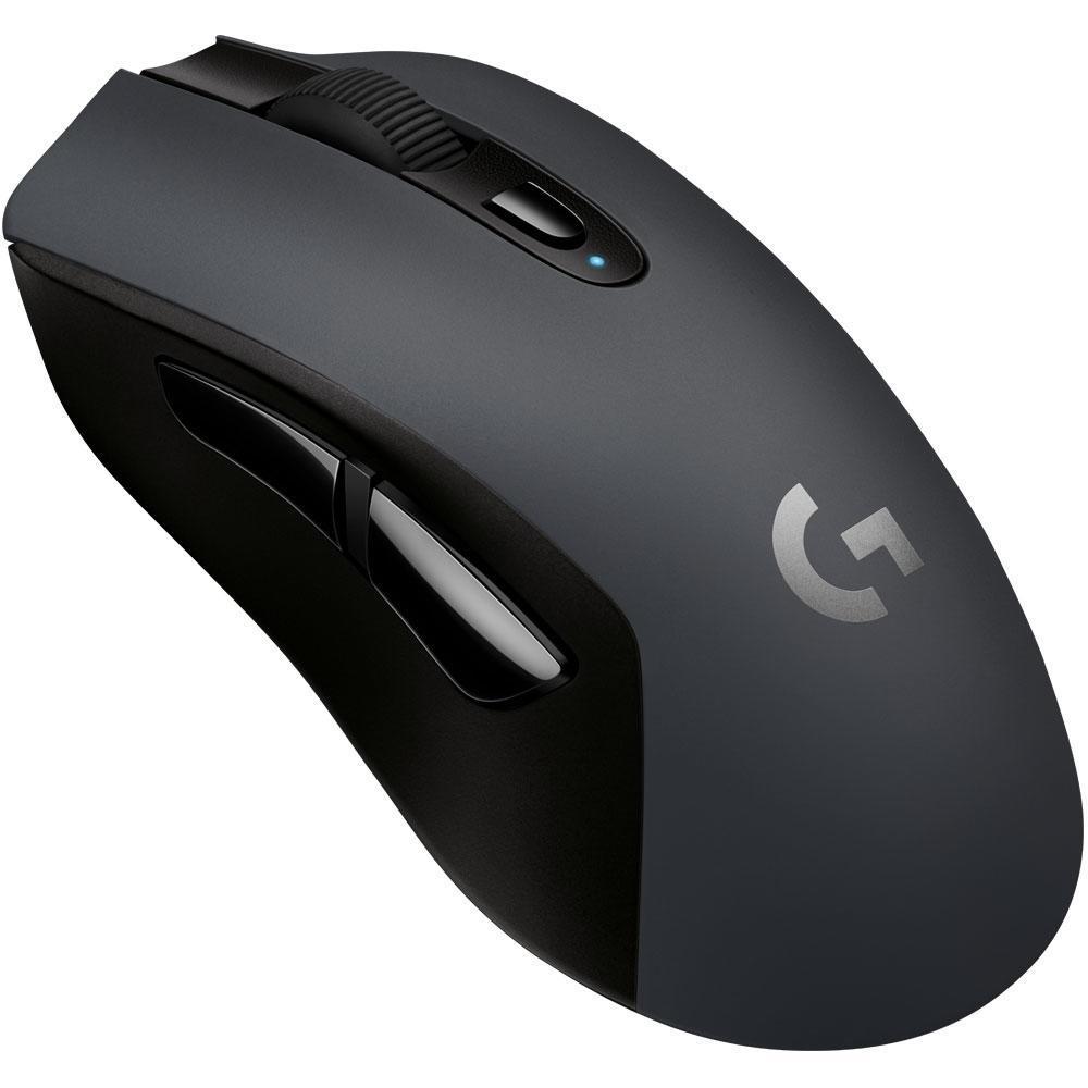 Mouse Sem Fio Gamer Logitech G603 Hero Lightspeed, Bluetooth, 6 Botões, 12000 DPI - 910-005100