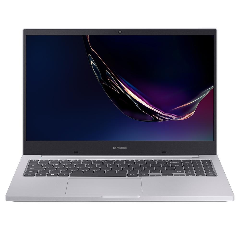 Notebook Samsung Book E40 Intel Core i3-10110U, Windows 10 Home, 4GB, 256GB SSD, 15.6´ LED Full HD, Prata - NP550XCJ-KS1BR