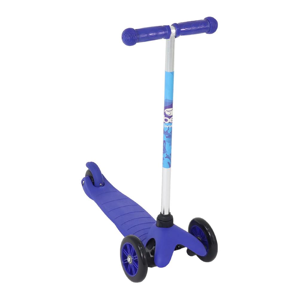 Patinete Infantil Twist 3 Rodas Azul - Bel Fix