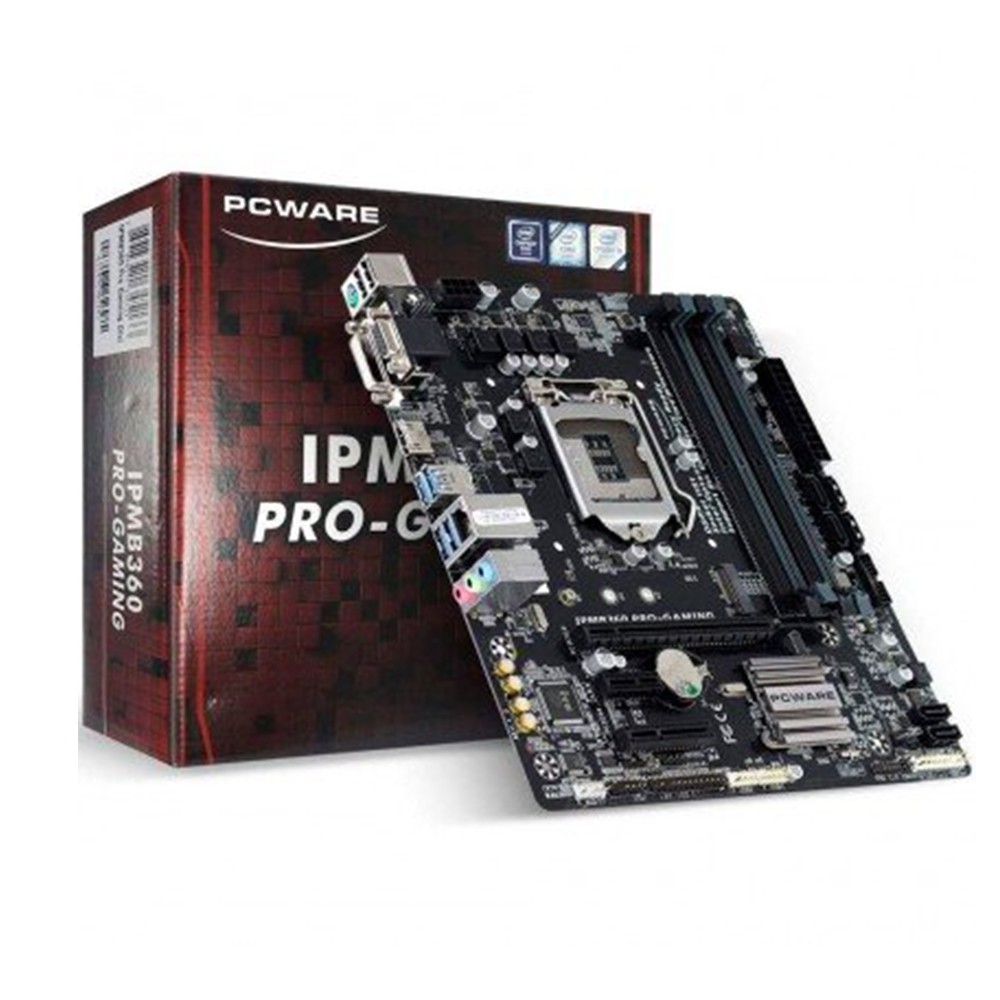 Placa Mãe PCWare IPMB360 Pro Gaming (Intel B360/LGA 1151/M.2)