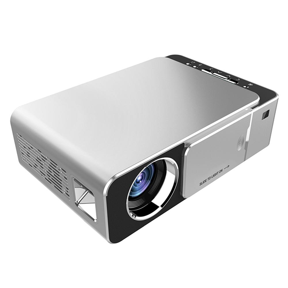 Projetor LCD 1280 x 720P HD com Wi-Fi 3500 Lumens LED Projetor Multimídia Home Theater USB HDMI Media Player - Flexinter