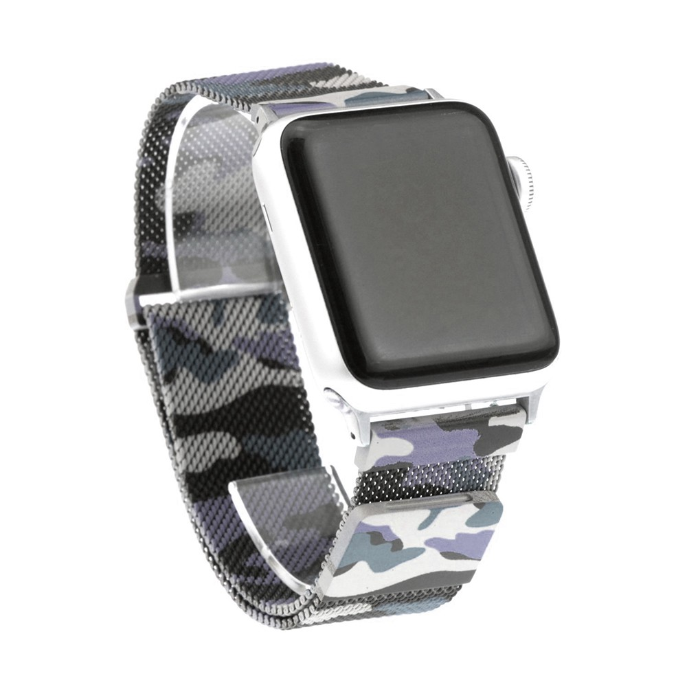 Pulseira para Apple Watch Camuflada Milanese 42/44MM Flexinter